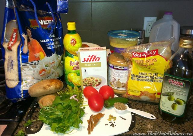Akni ingredients
