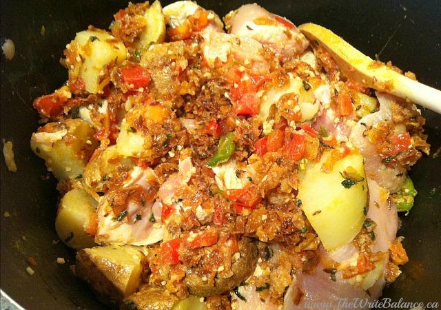 akni cooking