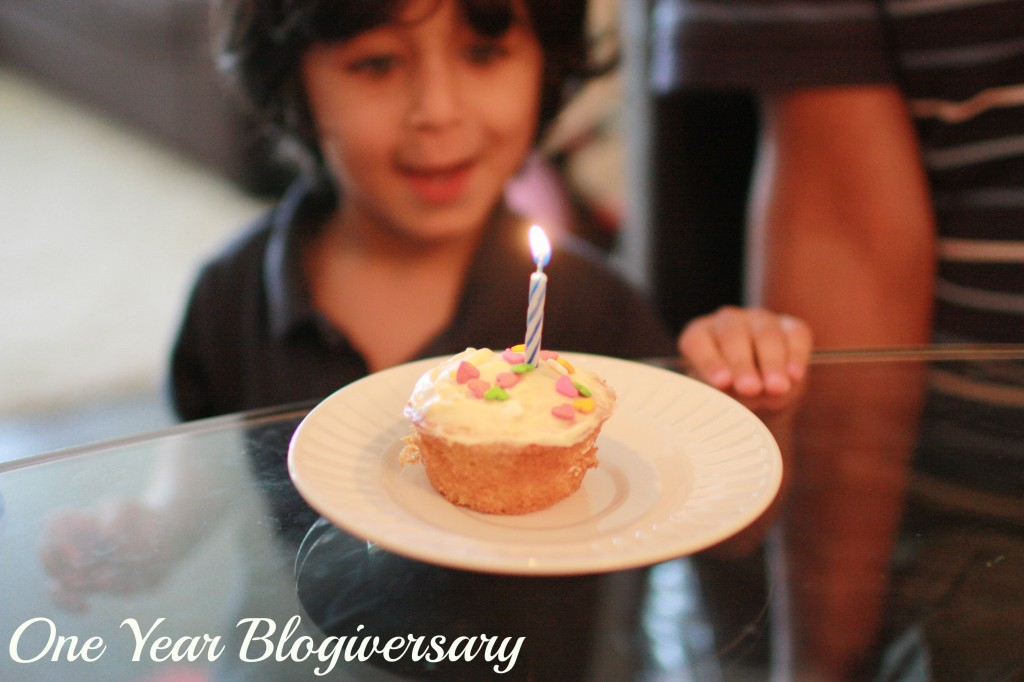 My one-year blogiversary