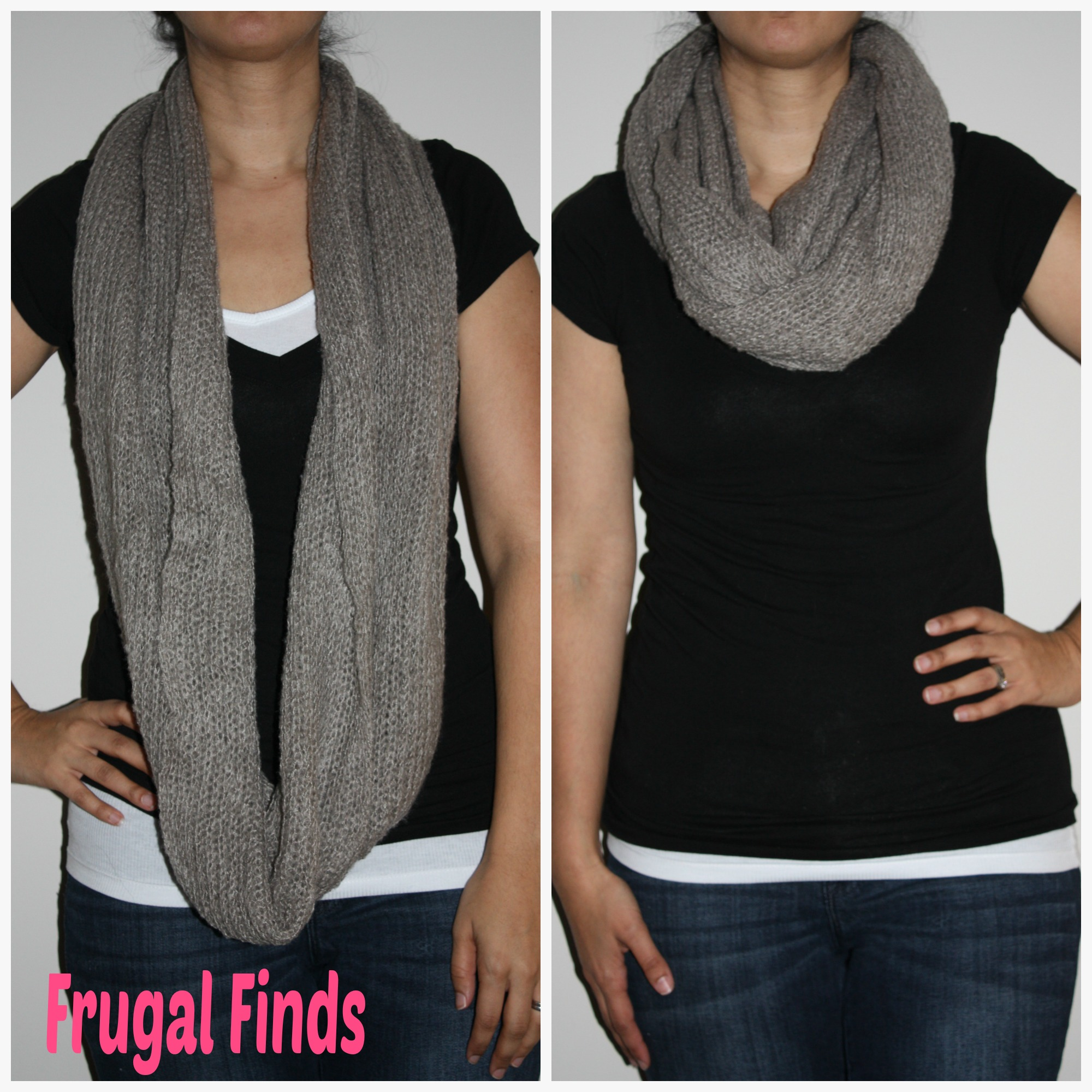 Frugal Finds - Infinity Scarf