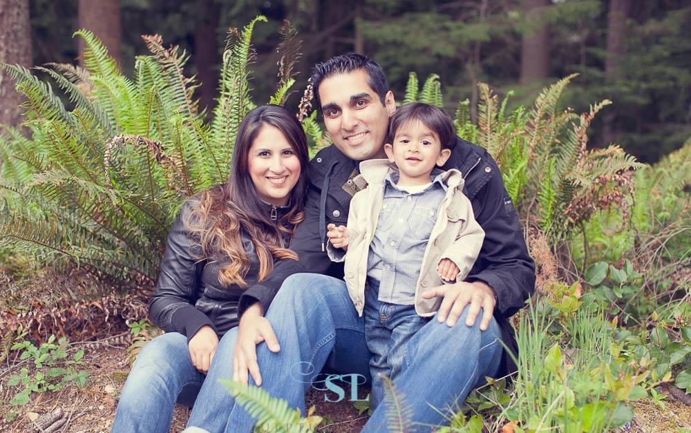 Hassanali family photo