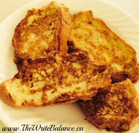 easy french toast - school lunch ideas