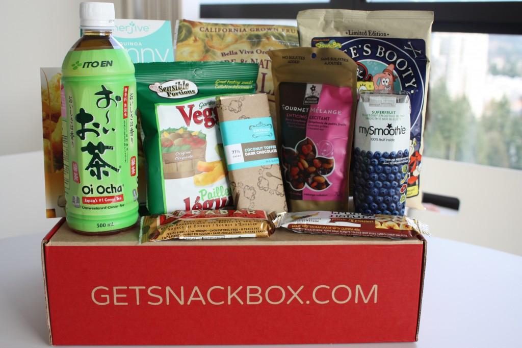 november snackbox items