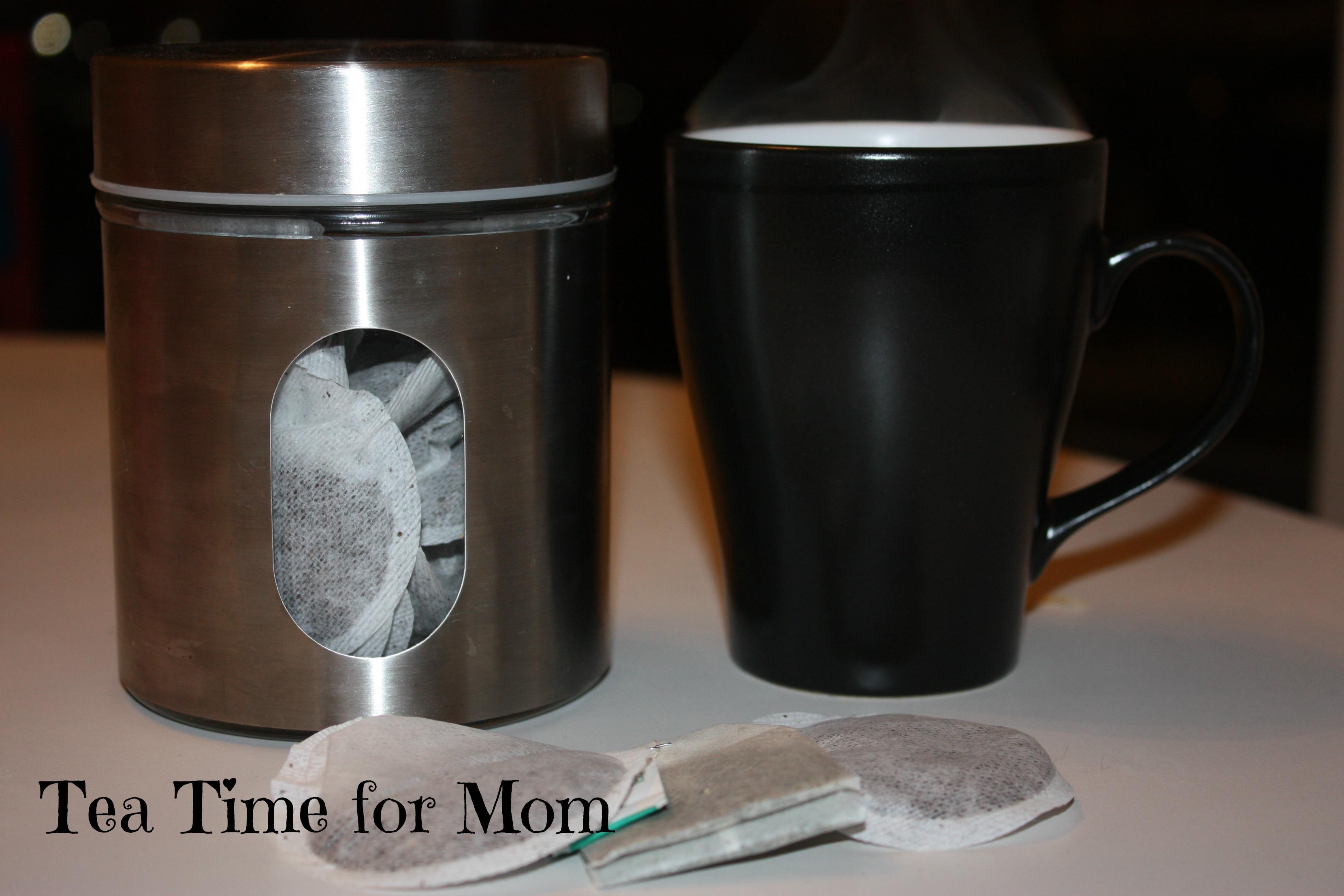 tea time for mom