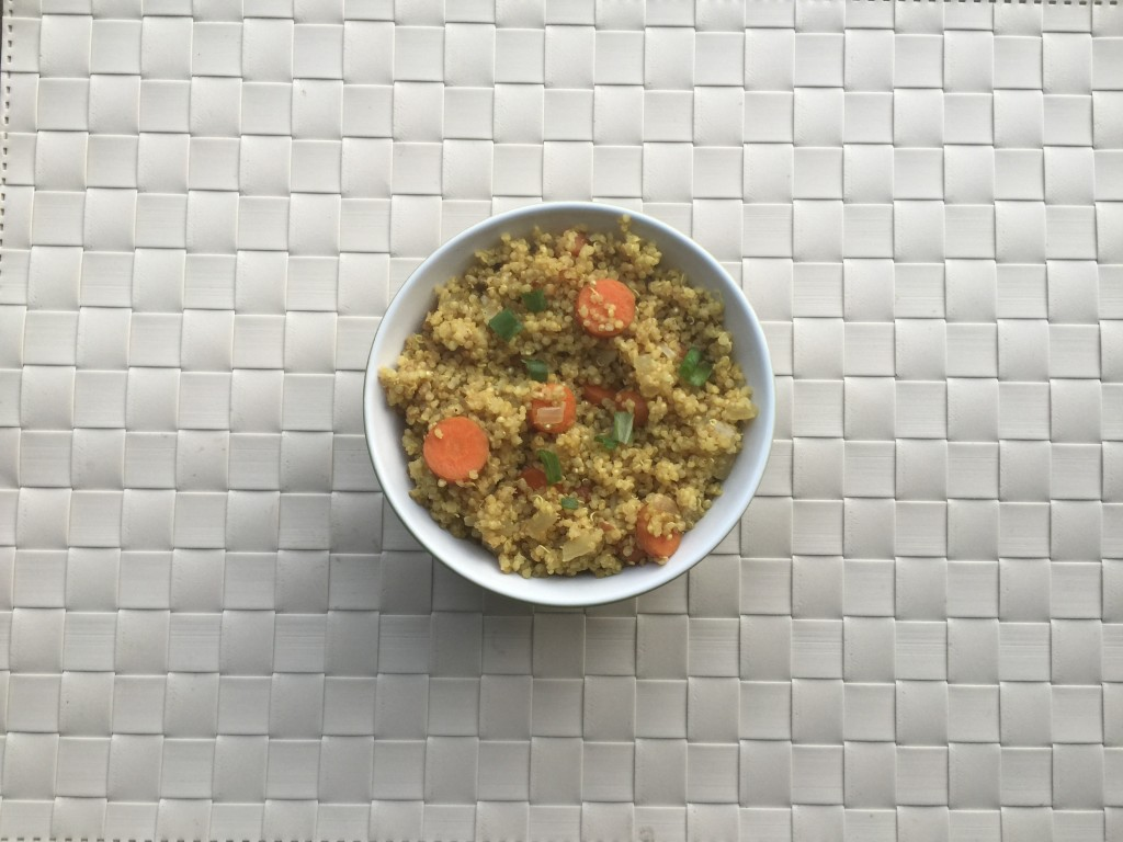 curried quinoa feature