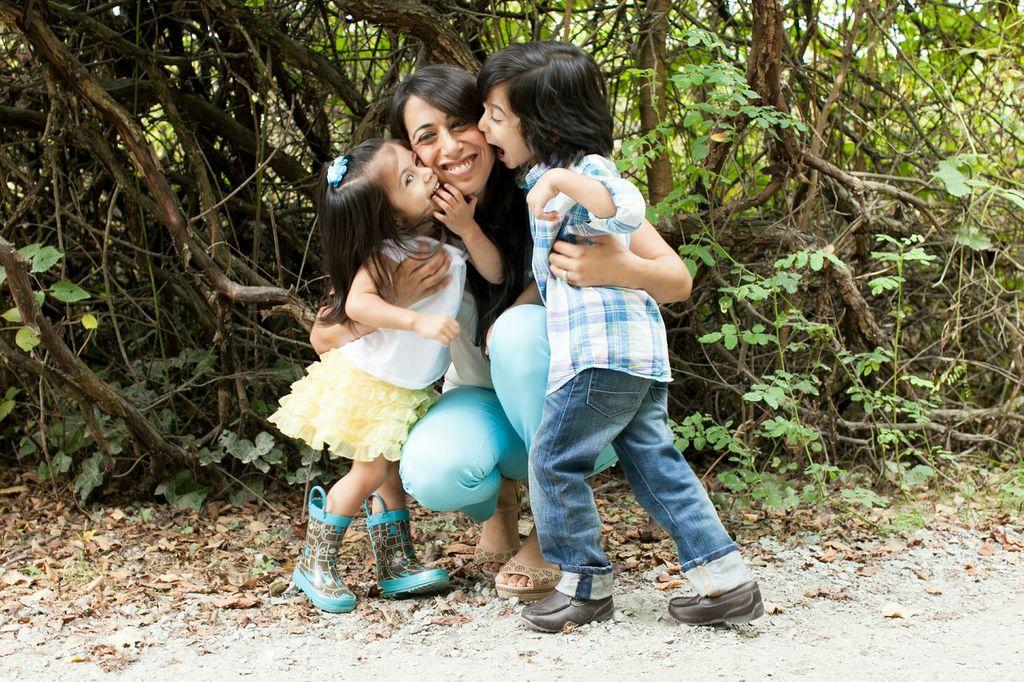 me and kids