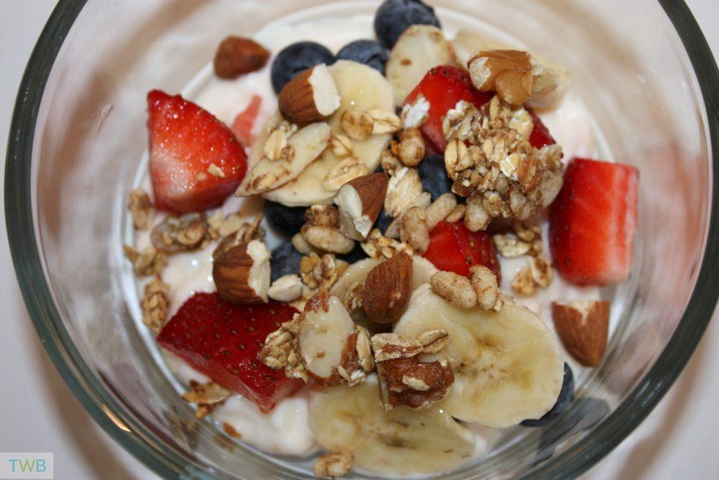 Healthy Breakfast Sundae recipe