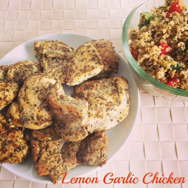 Lemon Garlic Chicken IG