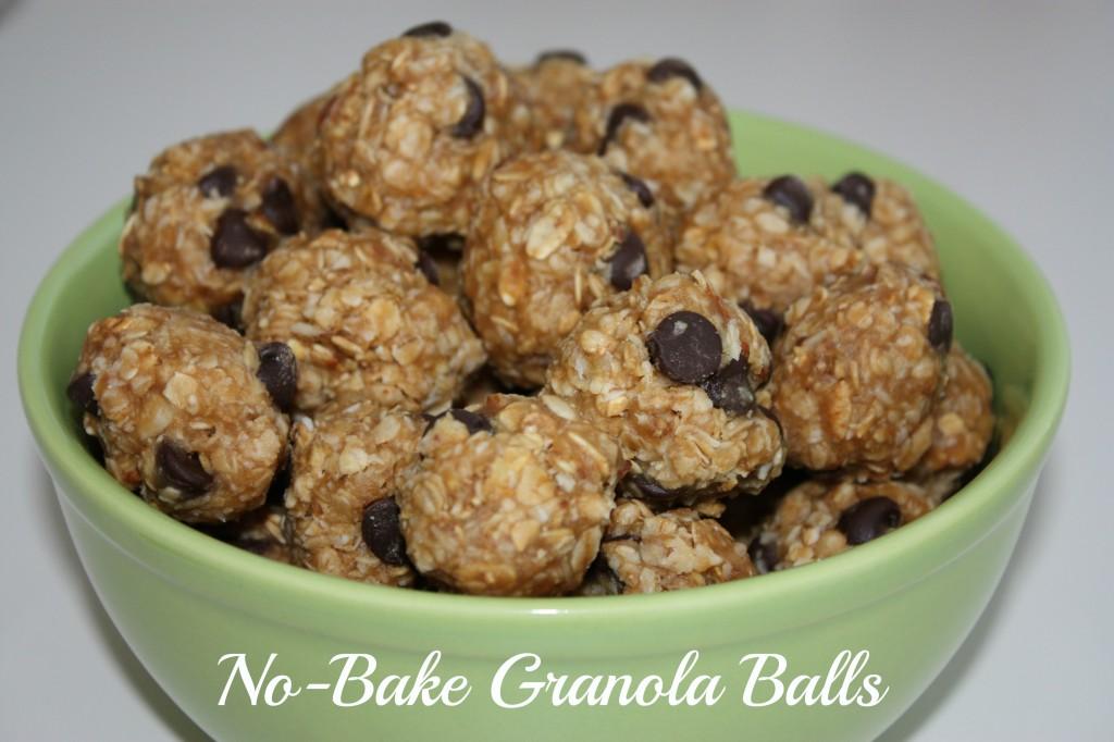 No bake Granola balls