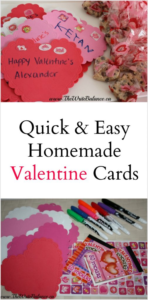 Simple Valentine Cards