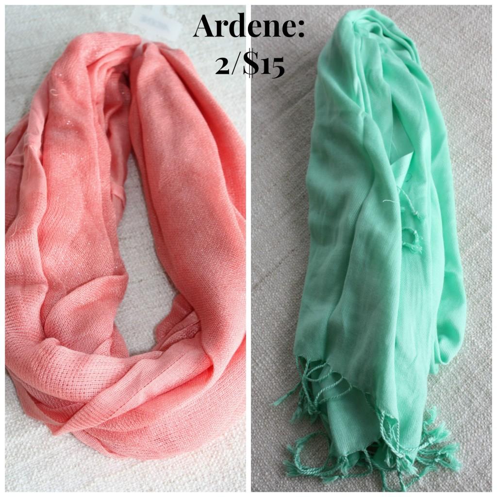 Ardene scarves