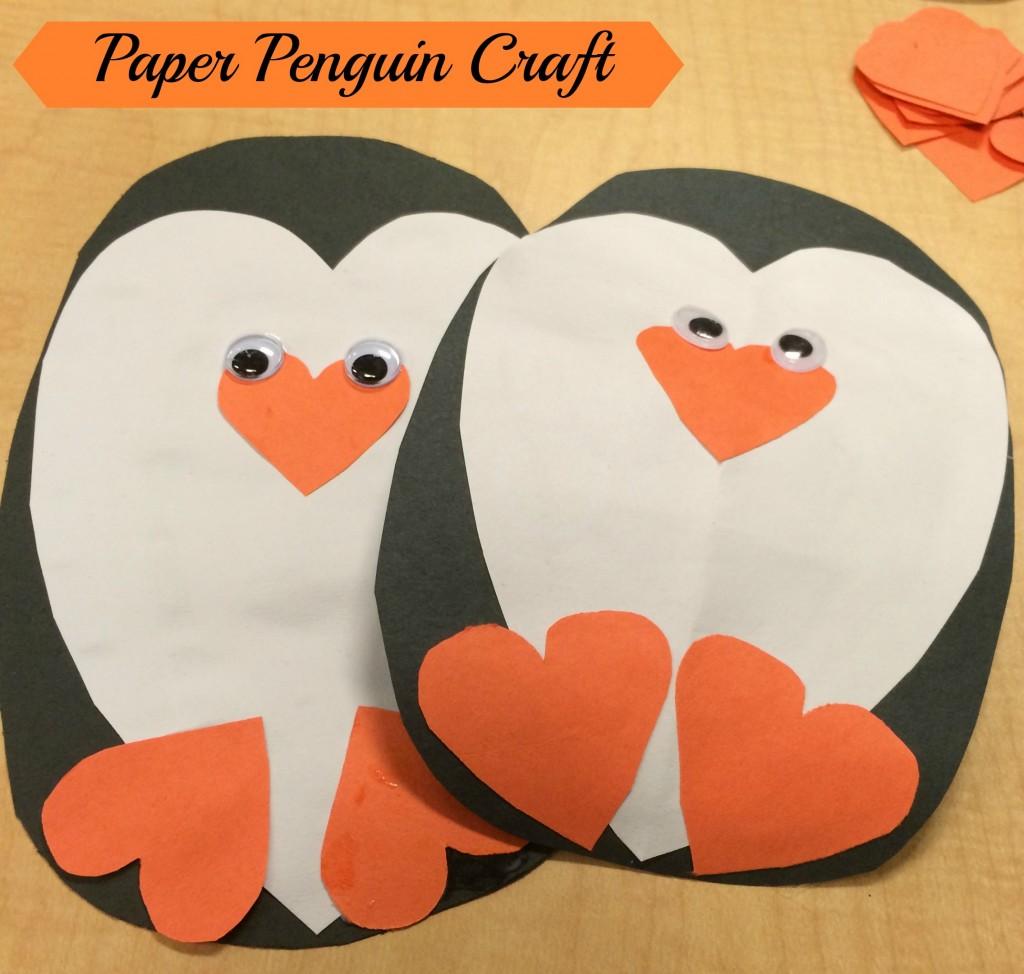 Paper Penguin Craft