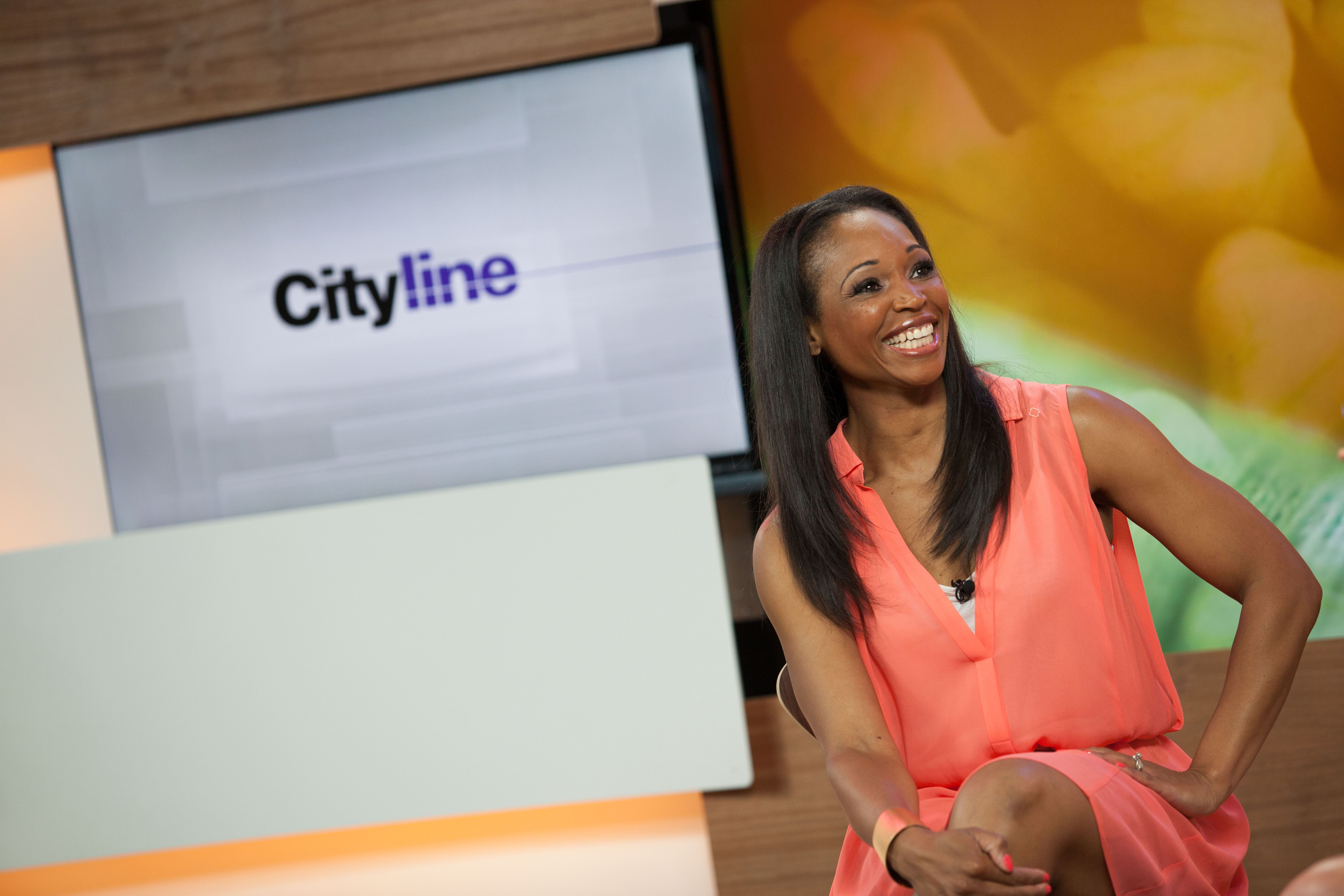 Tracy Moore Cityline-at work