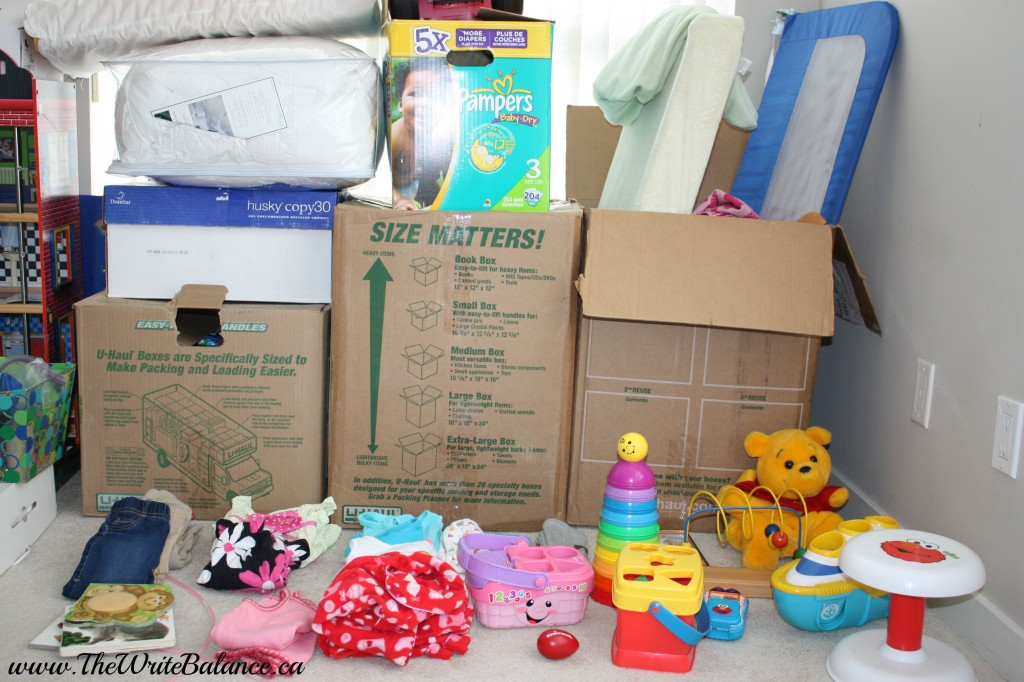 baby stuff to give away