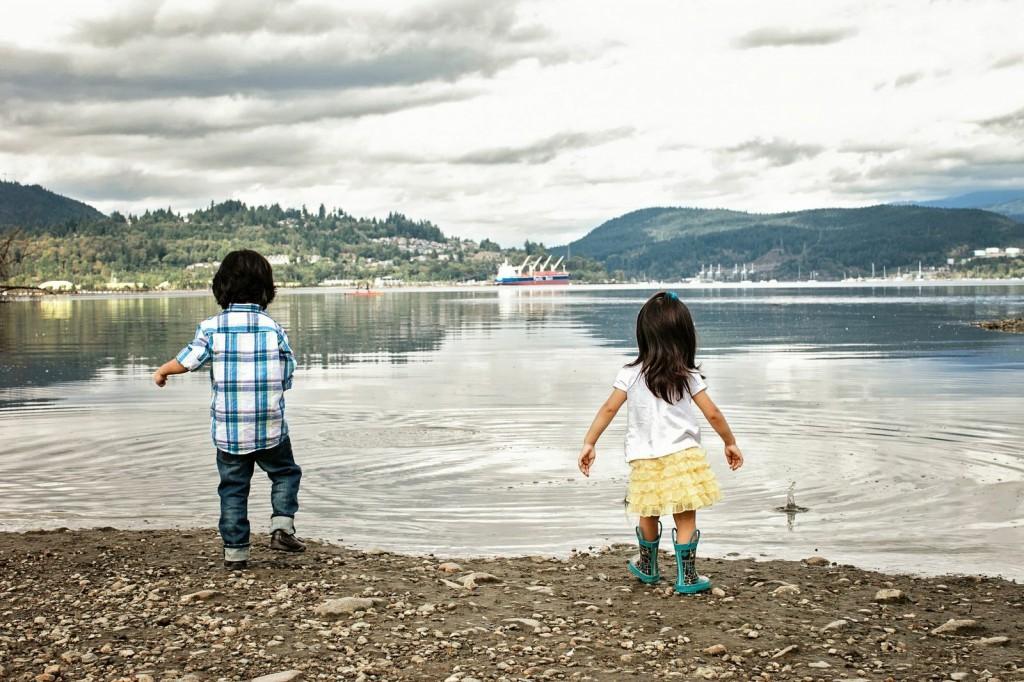 Kidsin nature