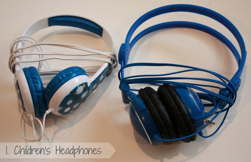 Essentials when Flying with kids-children's headphones 1