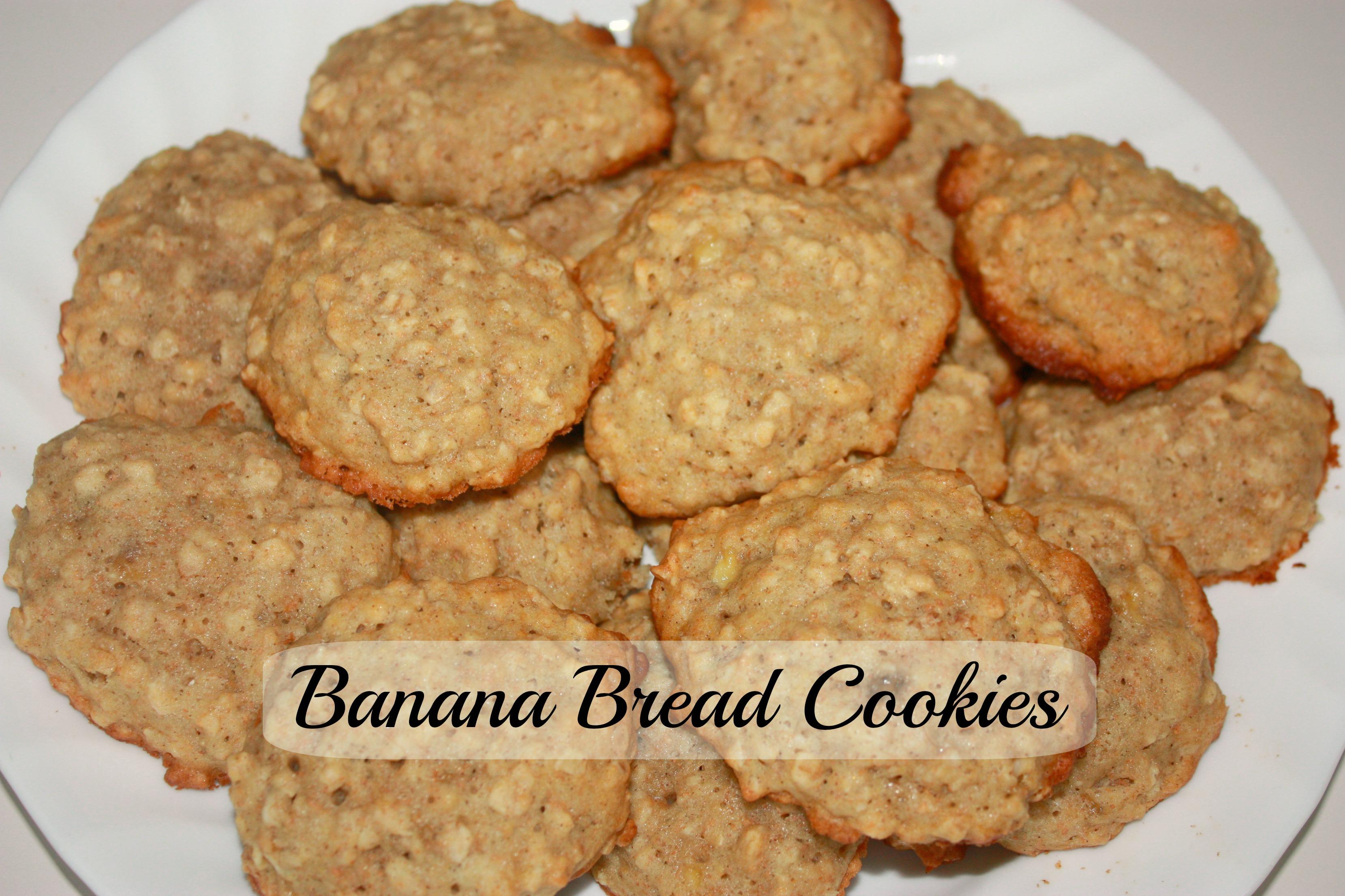 Banana Bread Cookies - The Write Balance