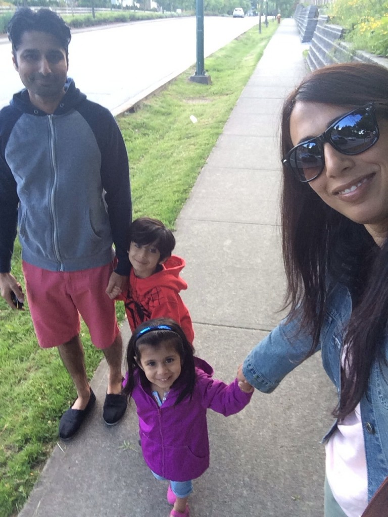 family walking #subwayfreshswap