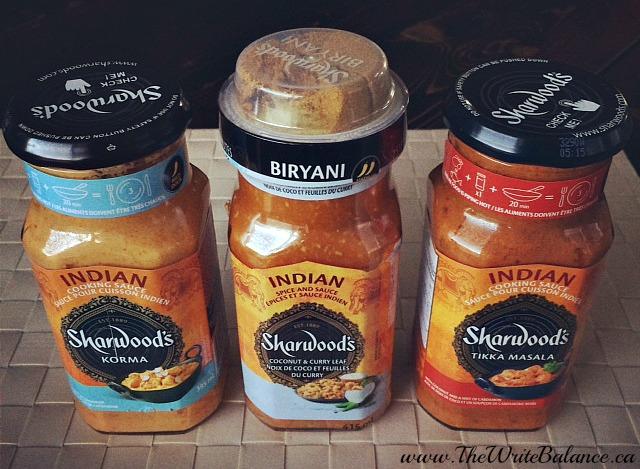sharwood sauces