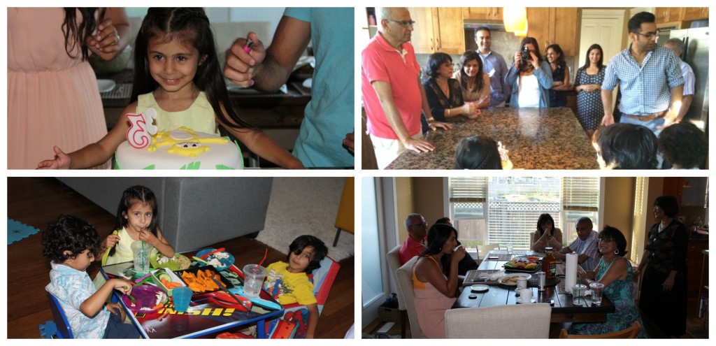 Kyah 3rd birthday collage