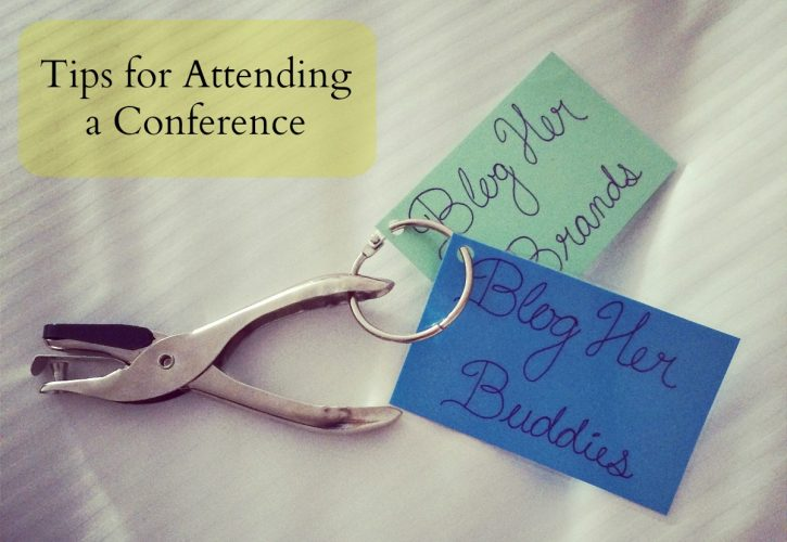 Tips for Attending a Conference P1 - feature