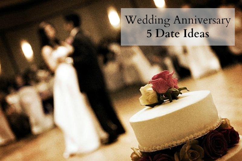 5 Wedding Anniversary Gift Ideas : Wedding Anniversary Date Ideas - The Write Balance