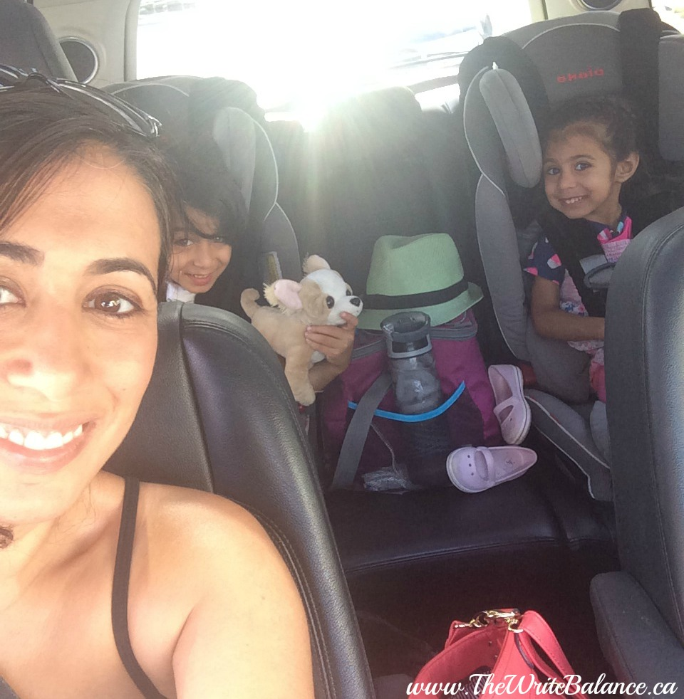 on the way to waterslides