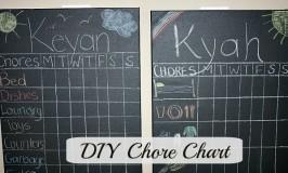 DIY chore charts feature
