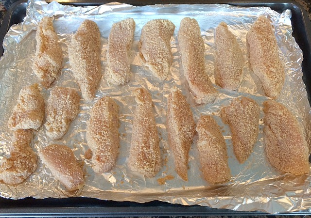 chicken strips ready to cook
