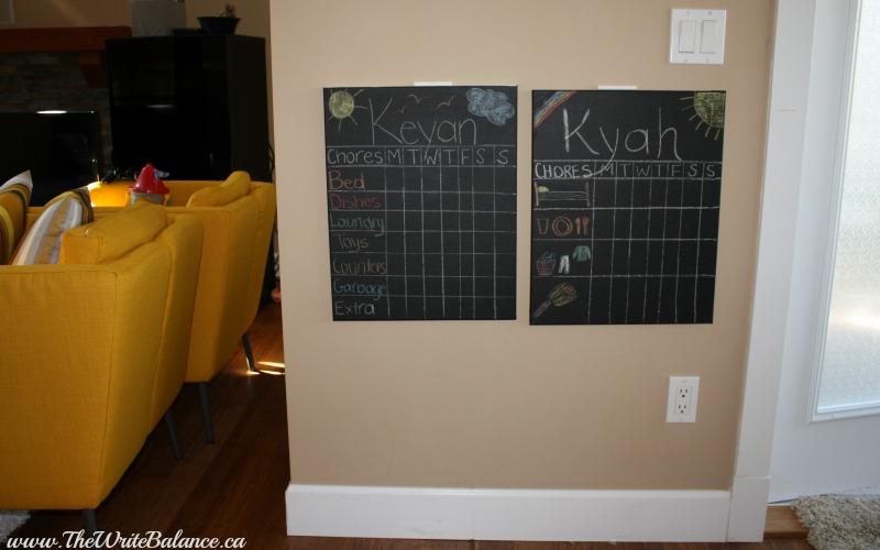 chore chart kids level