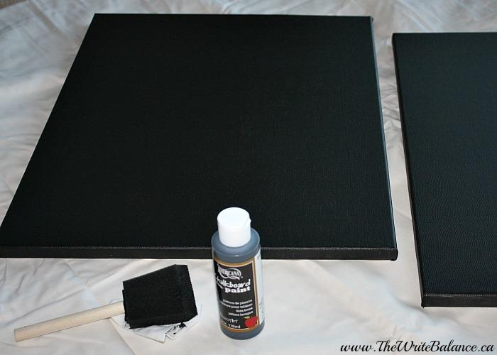 painted chore chart
