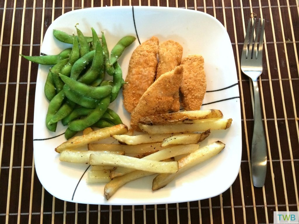 Homemade Baked French Fries - dinner