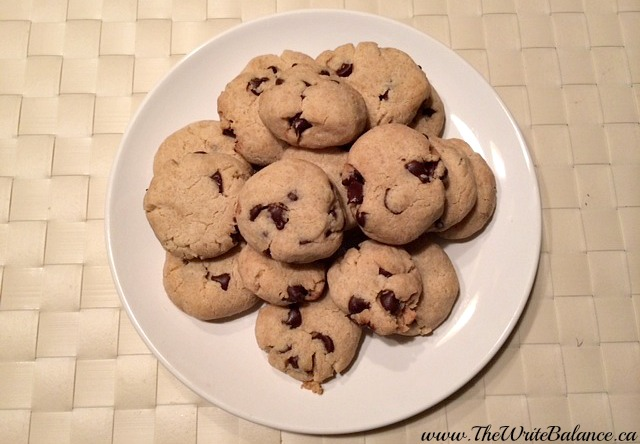 gluten-free chocolate chip cookies finished
