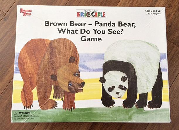 5 board games for preschoolers - brown bear