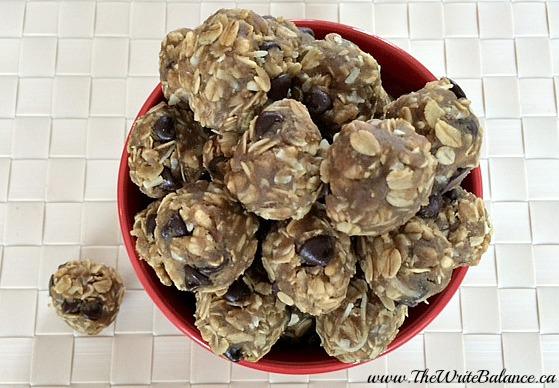 pumpkin granola balls 1
