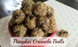 pumpkin granola balls feature