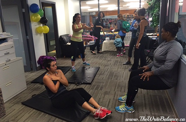 sit up challenge at fitwells