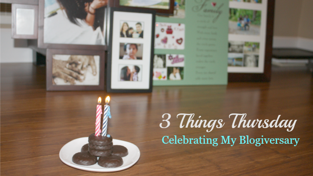 3 Things Blogiversary - feature