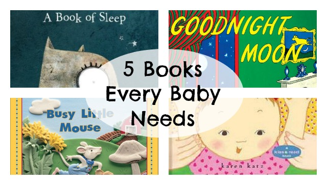 10 Ideas for Gifts for a new mom - baby books
