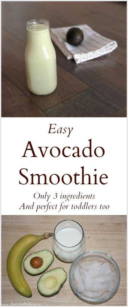 Easy Avocado Smoothie