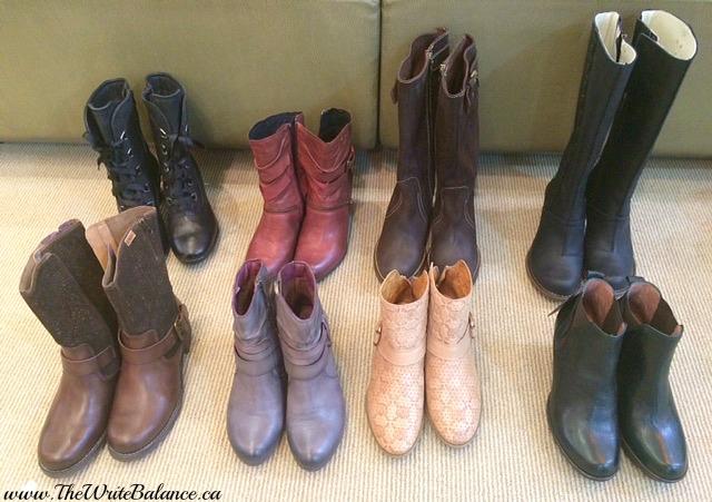 Ella Shoes - my choices
