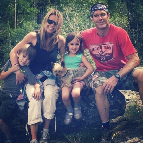 Trista Sutter Family Hike