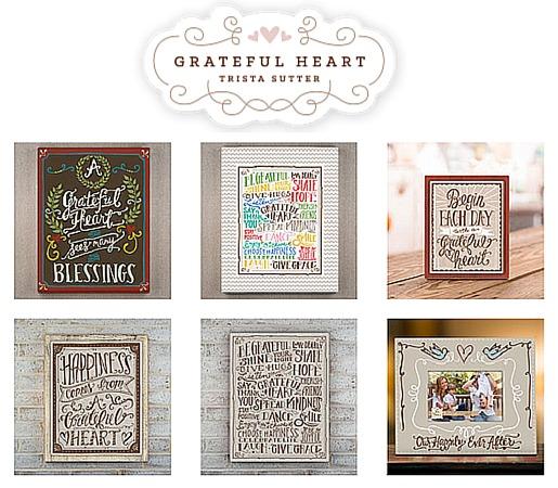 Trista Sutter Grateful Heart Collection