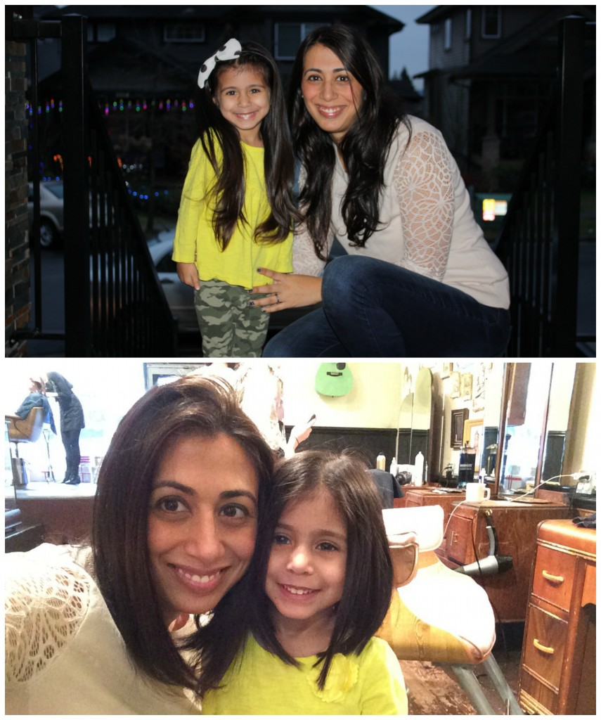 mum & yah before & after