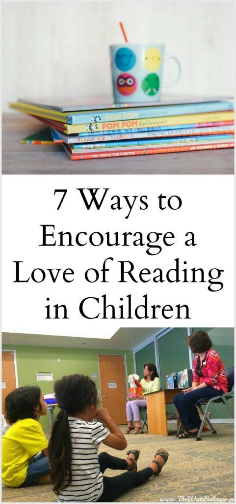 7 Ways to Encourage Children to Read More