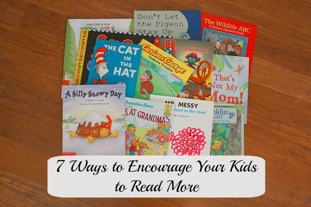 Encourage your kids to read feature