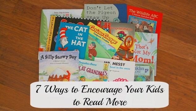 encourage kids to read more