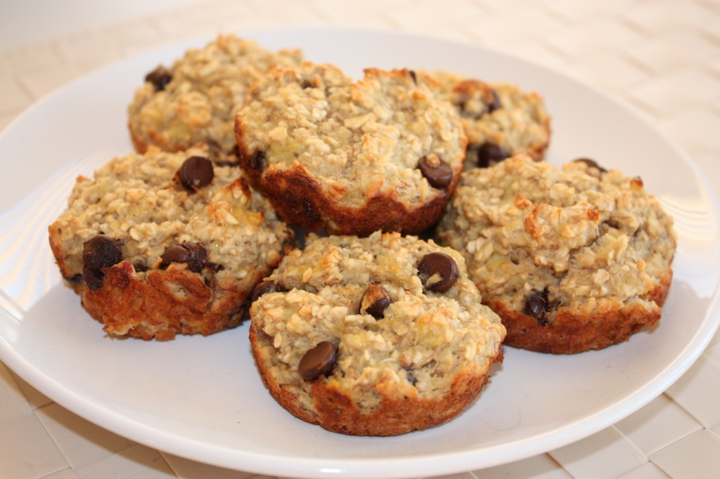 5 Muffin Recipes to Try - Banana Oatmeal Muffins