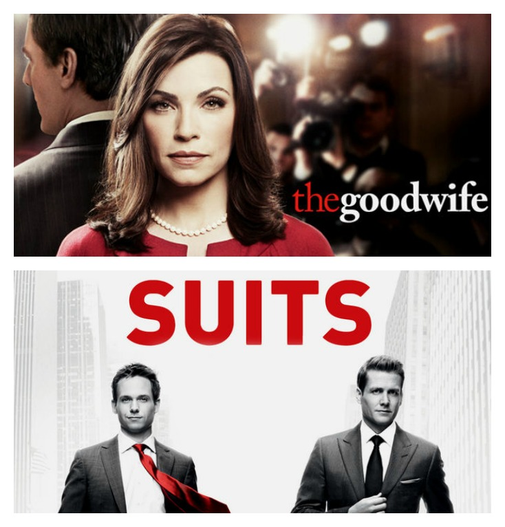 good wife & suits