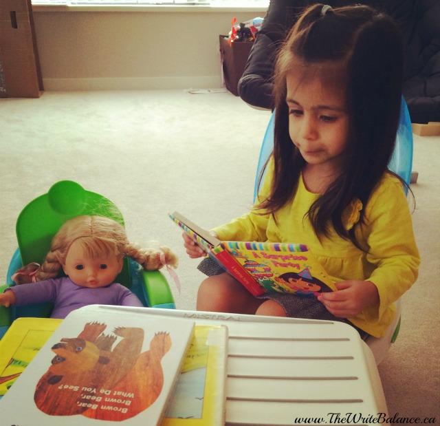 literacy week - potty time